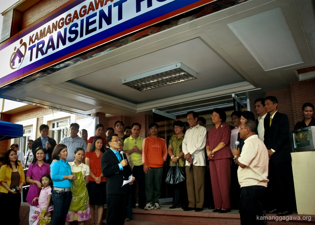 The inauguration of the first ever free transient home in the Philippines. Kuya Daniel Razon and Jay Sonza introduce the Kamanggagawa Foundation Transient Home to the public via Good Morning, Kuya!